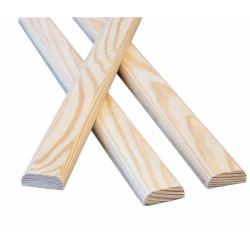 Раскладка деревянная 40 мм