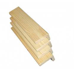 Уголок внутренний деревянный 40 мм